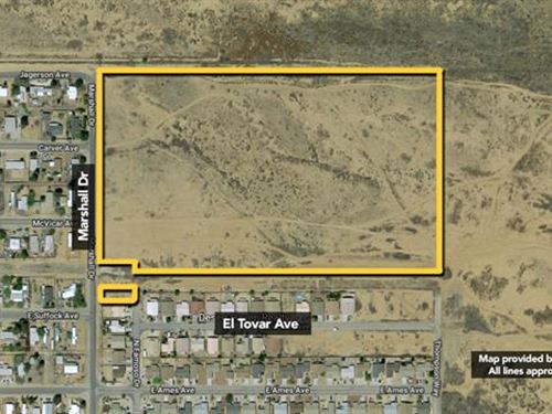Land, Approx 25.43Ac Lot : Kingman : Mohave County : Arizona