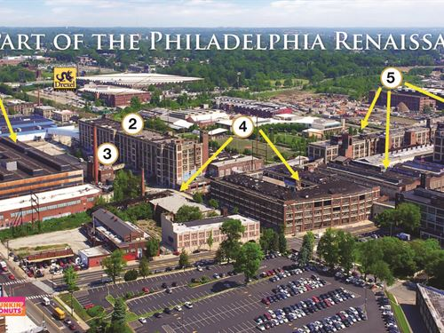 Major Redevelopment Site : Philadelphia : Pennsylvania