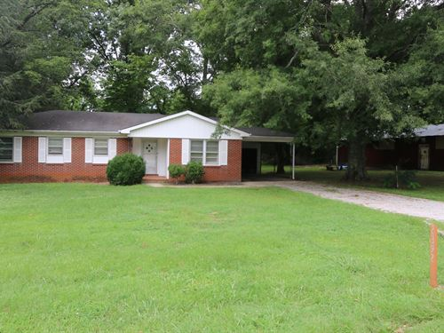 Brick Home & Shop On 2 Lots : Sparta : White County : Tennessee