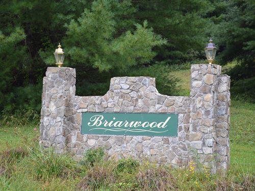 7 Lots in Briarwood Subdivision : Sparta : Alleghany County : North Carolina