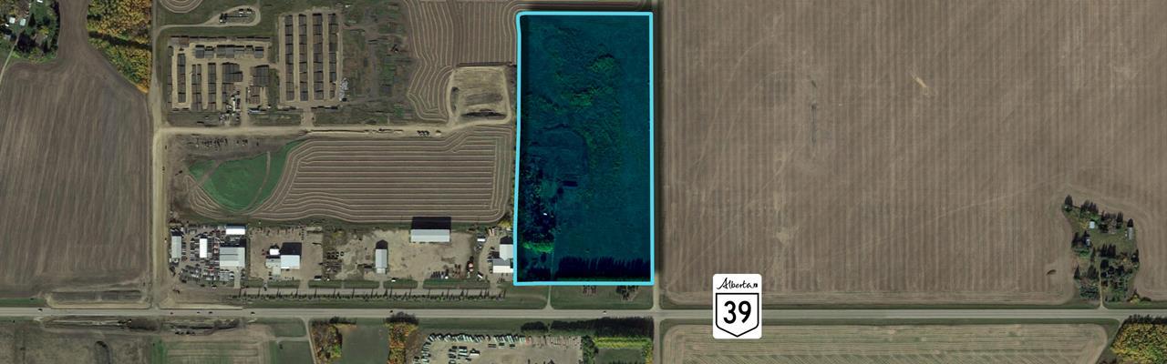 9.31 Hectares / 23 Acres In Alberta : Calmar : Canada