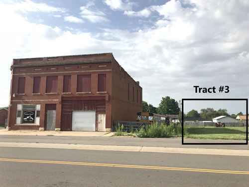 Commercial Building & Lot, Arapaho : Arapaho : Custer County : Oklahoma