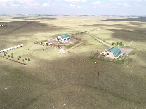 70+/- Ac, Building & Cell Tower : Parker : Elbert County : Colorado