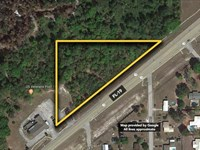 Development Site Located Near : Palatka : Putnam County : Florida
