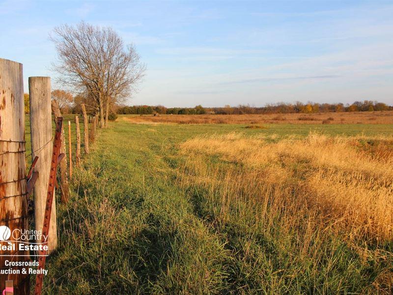 Tract 1, 115 Acres Farmland : Edgerton : Johnson County : Kansas