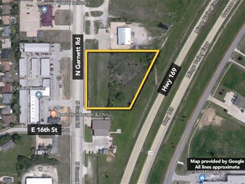 Approx 2.73 Acres of Prime Devel : Owasso : Tulsa County : Oklahoma