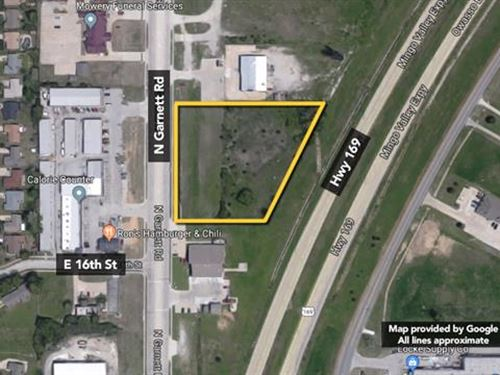 Approx 2.73 Acres of Prime Devel : Owasso : Tulsa County : Oklahoma