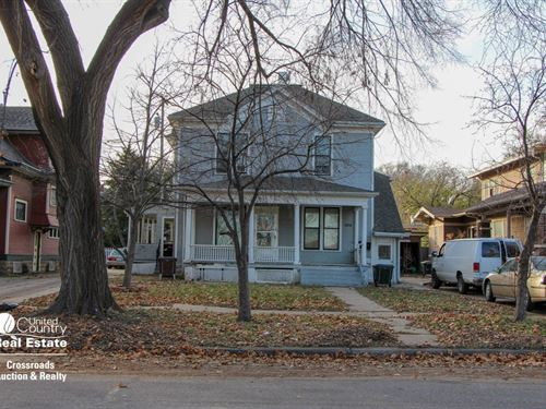 Lot 2, 454 S, 8th St, 4 Unit : Salina : Saline County : Kansas