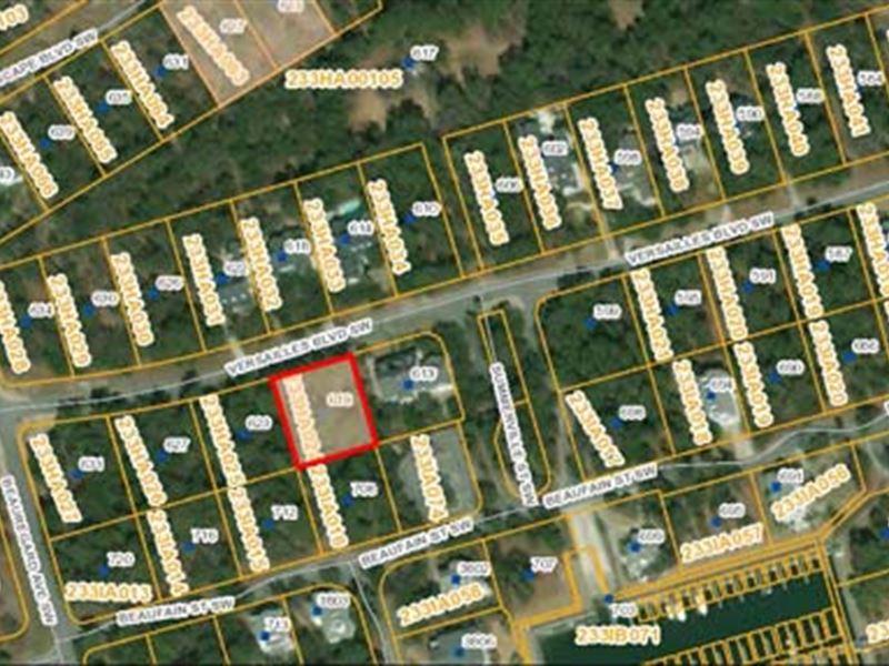 Auction, Properties 1119 A-J : Supply : Brunswick County : North Carolina