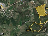 66.4 Ac, Conveniently Located : Sparta : Gallatin County : Kentucky