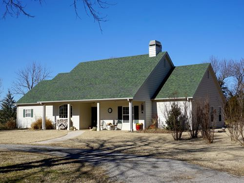 Superb Oklahoma Ranch Auction : Stroud : Lincoln County : Oklahoma