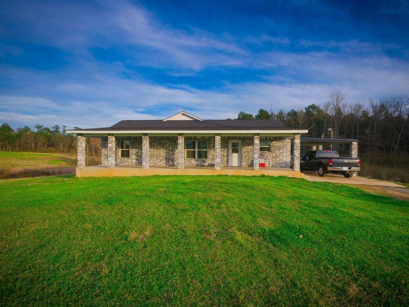 Cushing Texas Home Auction : Cushing : Nacogdoches County : Texas