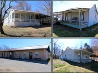 3 Homes And Duplex In 4 Tracts : Gainesboro : Jackson County : Tennessee