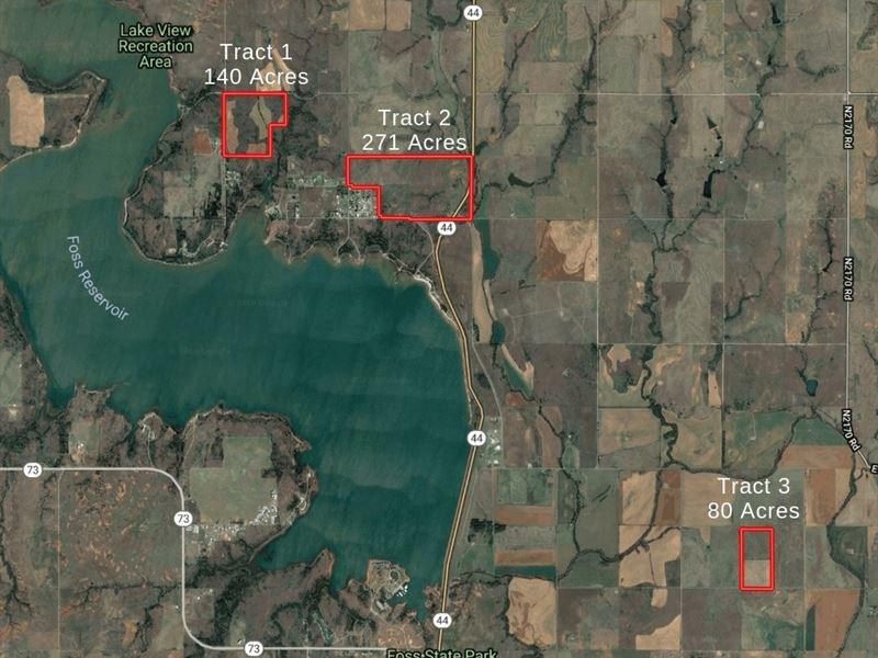 Oklahoma Hunting & Recreational : Butler : Custer County : Oklahoma