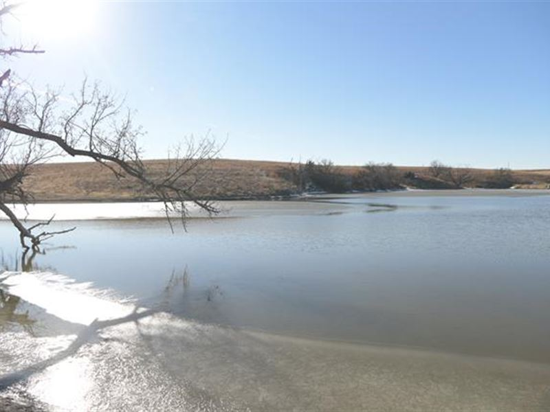 Consists of Nearly 1,000 Acres : Natoma : Rooks County : Kansas