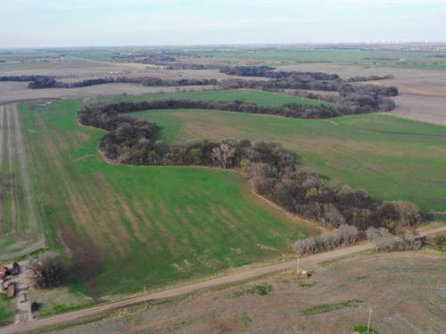 100 Acres Cropland & Hunting : Braman : Kay County : Oklahoma