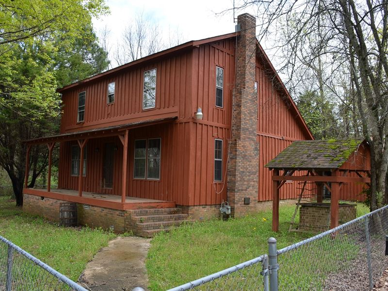 Cedar Home 5.4 Acres Hubert Porter : Decatur : Morgan County : Alabama