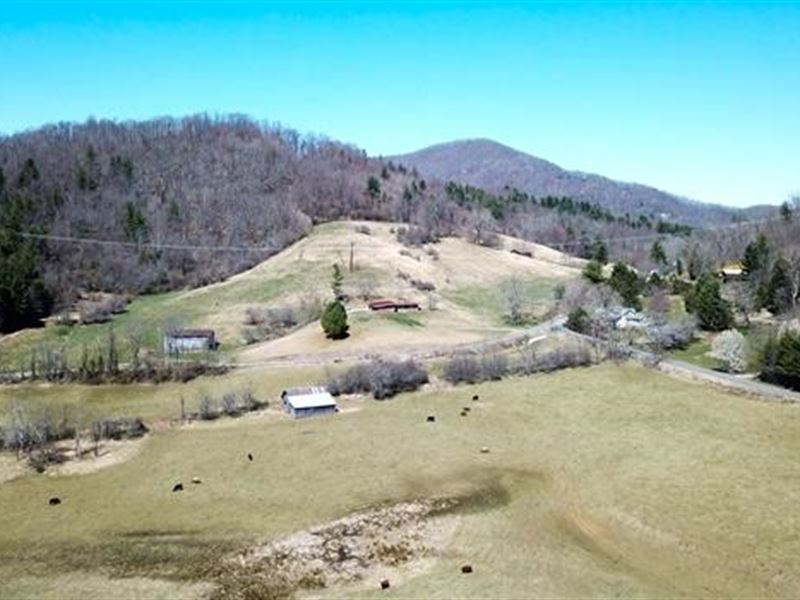 Being Offered at Auction, Two fa : Burnsville : Yancey County : North Carolina