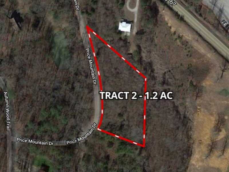 Auction 1.2 AC Price Mountain Dr : Decatur : Morgan County : Alabama