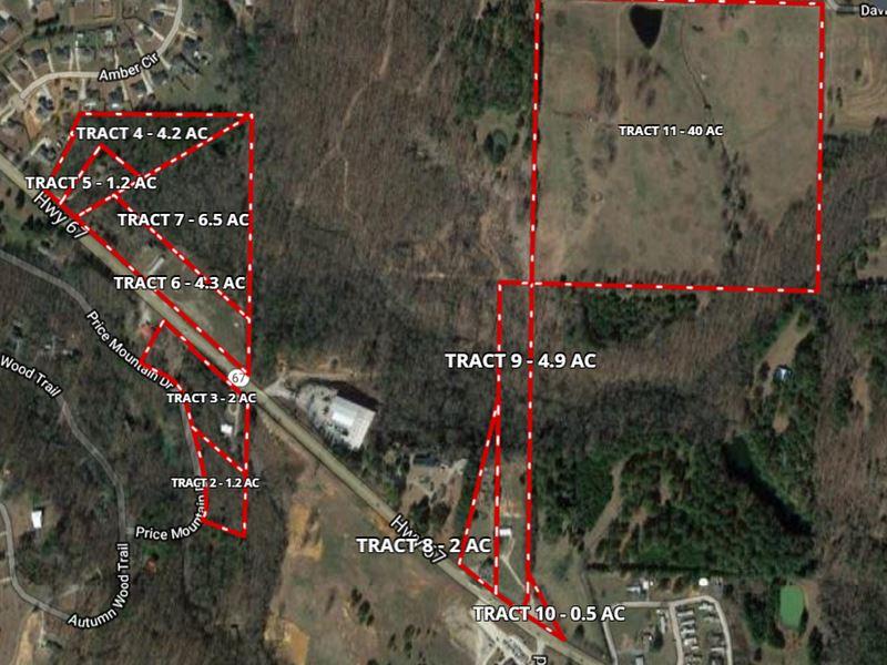 40 Acres, Tract 11 Davis St : Decatur : Morgan County : Alabama