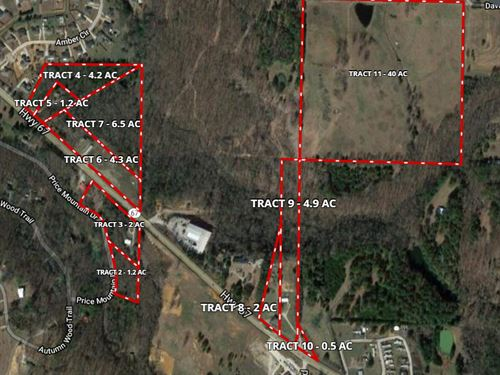40 Acres, Tract 11 Davis St : Decatur : Morgan County : Alabama