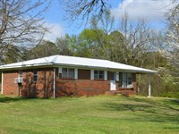 Live Auction Brick Rancher 4.9 Ac : Decatur : Morgan County : Alabama