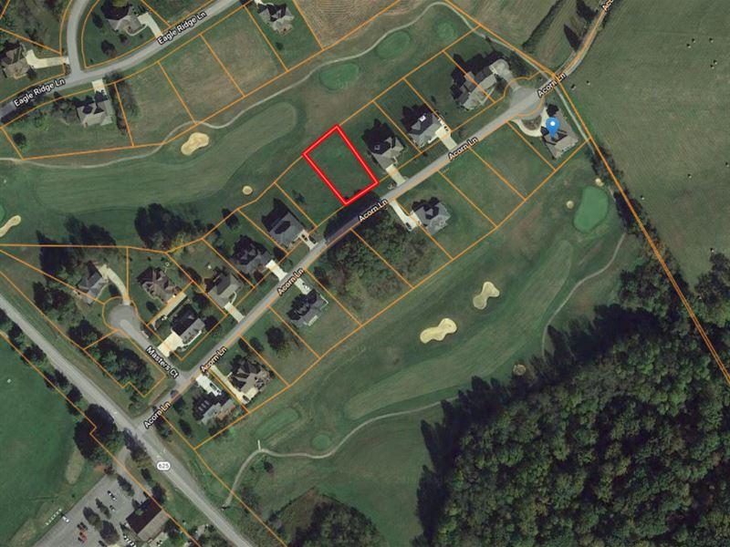 Lot Auction Clear Creek Golf Course : Bristol : Washington County : Virginia