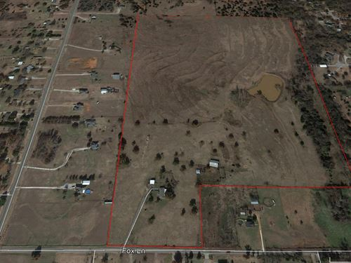 Land, Country Home- Shop, Estate : Blanchard : Grady County : Oklahoma