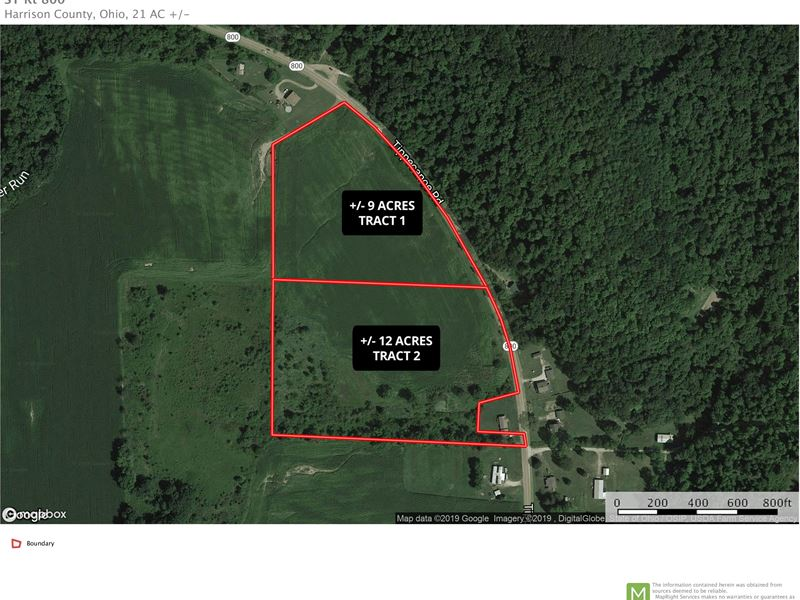 Sr 800, 21 Acres : Tippecanoe : Harrison County : Ohio