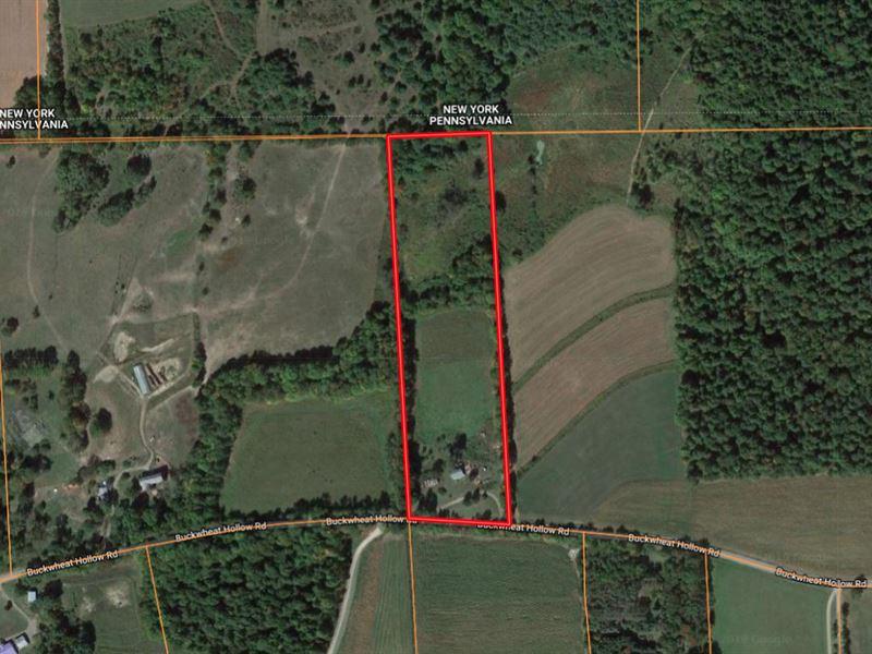 10 Recreational Acres Tioga County : Lawrenceville : Tioga County : Pennsylvania