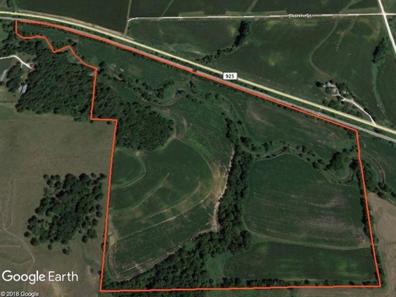 Guthrie County Iowa Tillable : Casey : Guthrie County : Iowa
