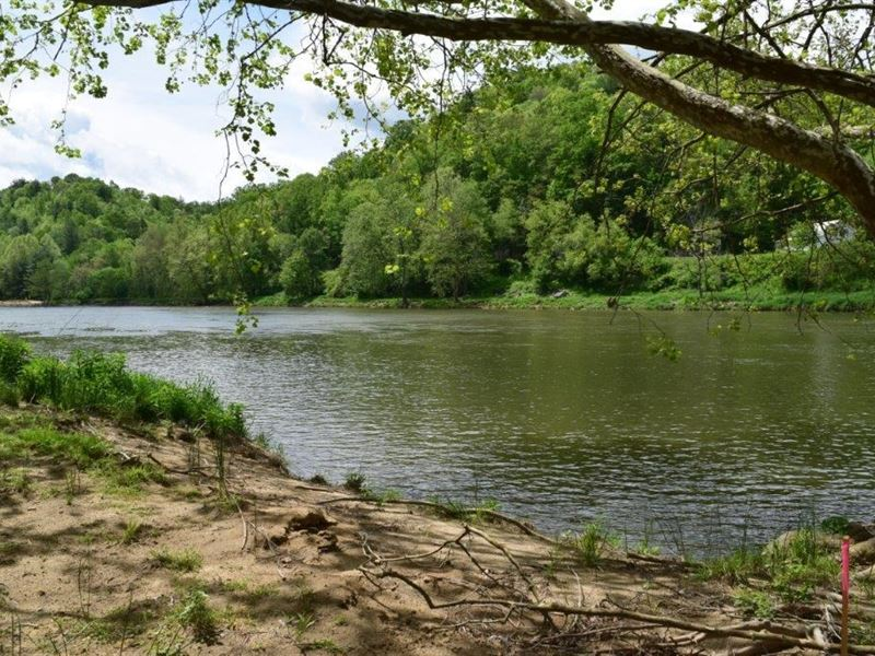Galax VA Waterfront Land Lot : Galax : Grayson County : Virginia