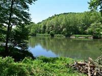 Water Front Fishing Property : Galax : Grayson County : Virginia