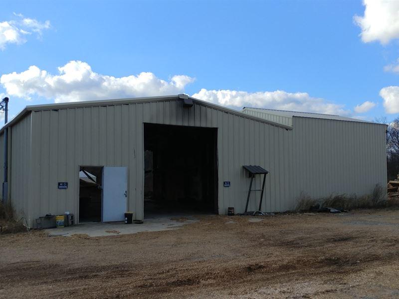 Auction Commercial Building Land : Eva : Morgan County : Alabama