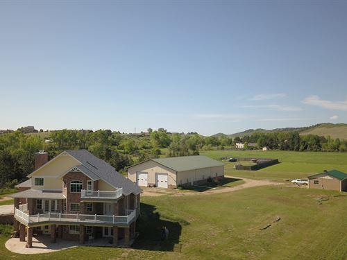 Home & Acreage In Sw Loveland, Co : Loveland : Larimer County : Colorado