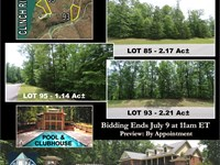 3 Wooded Lots Near The Clinch River : Kingston : Roane County : Tennessee