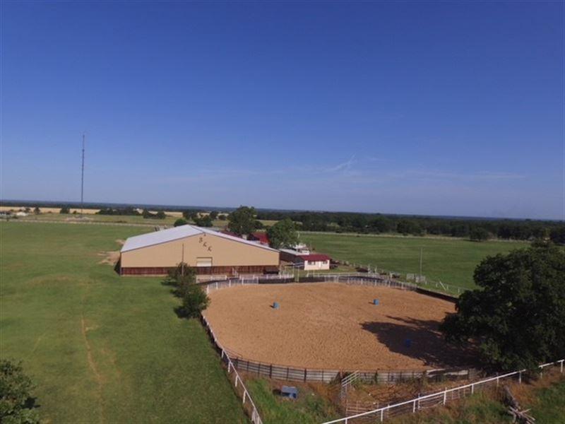Oklahoma Horse Property Love County : Thackerville : Love County : Oklahoma