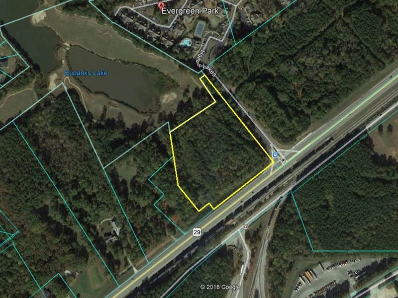 Commercial Land : Fairburn : Fulton County : Georgia