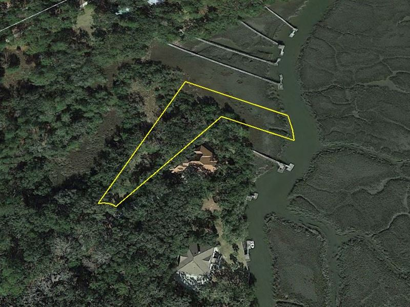 Waterfront Residential Lot : Darien : McIntosh County : Georgia