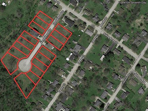 Residential Development Land : Frankfort : Franklin County : Kentucky