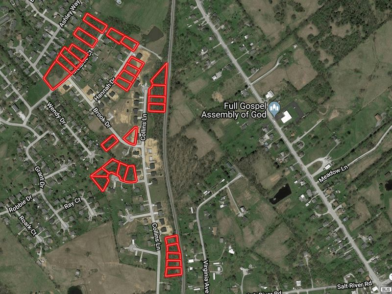 28 Residential Home Sites : Lawrenceburg : Anderson County : Kentucky