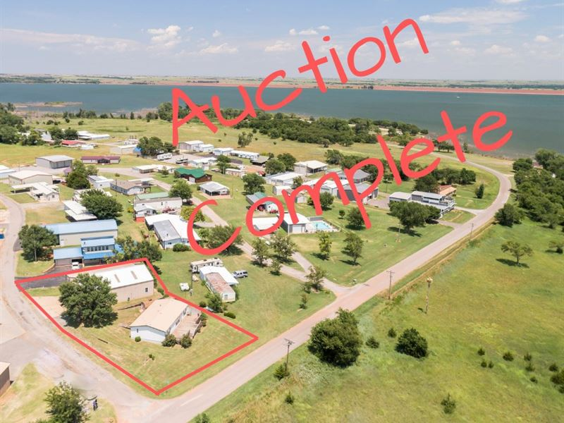 Lake View Property, Foss State : Foss : Custer County : Oklahoma