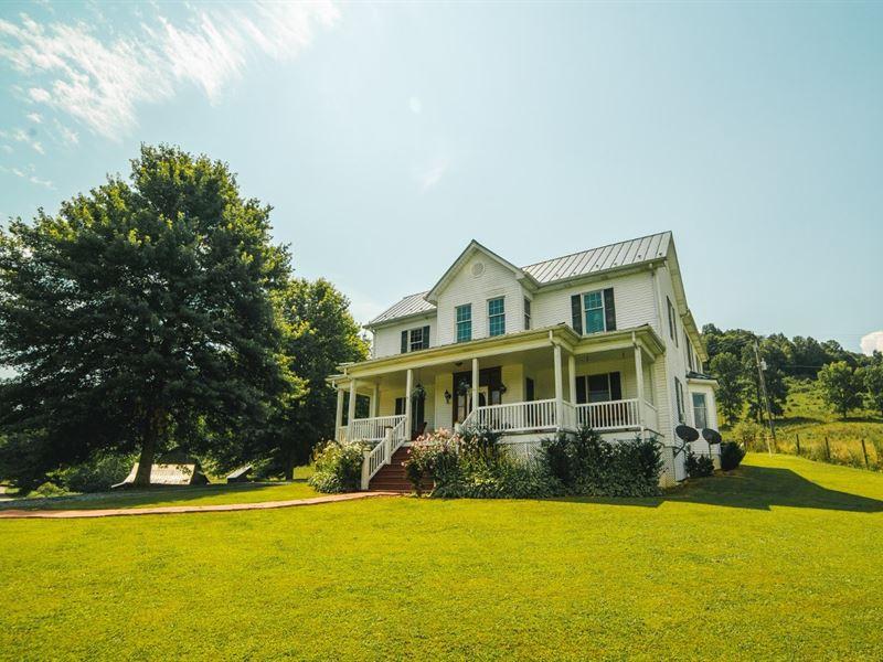 Farmhouse Land Online Only Auction : Saltville : Smyth County : Virginia