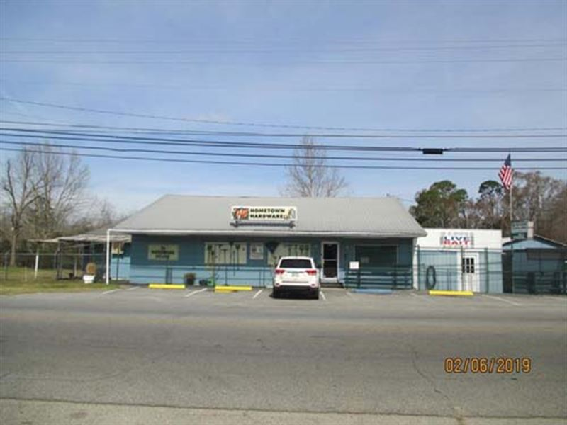 Commercial Buildings With Acreage : Fitzgerald : Ben Hill County : Georgia