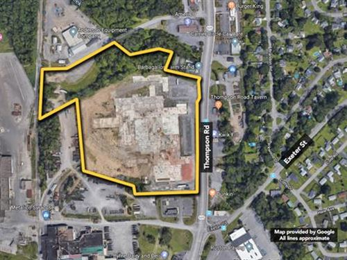17.6 ac of Commercial Land su : Syracuse : Onondaga County : New York