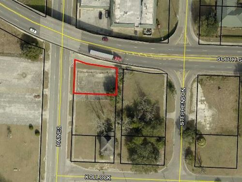 Commercial Lot : Waycross : Ware County : Georgia