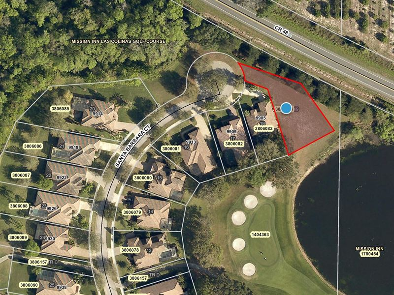 Homesite In Howey In The Hills, Fl : Howey In The Hills : Lake County : Florida