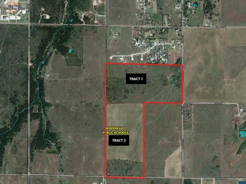 2-80 Acres Tracts : Woodward : Oklahoma