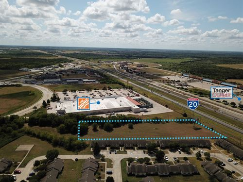Home Depot Adjacent Parcel : Terrell : Texas