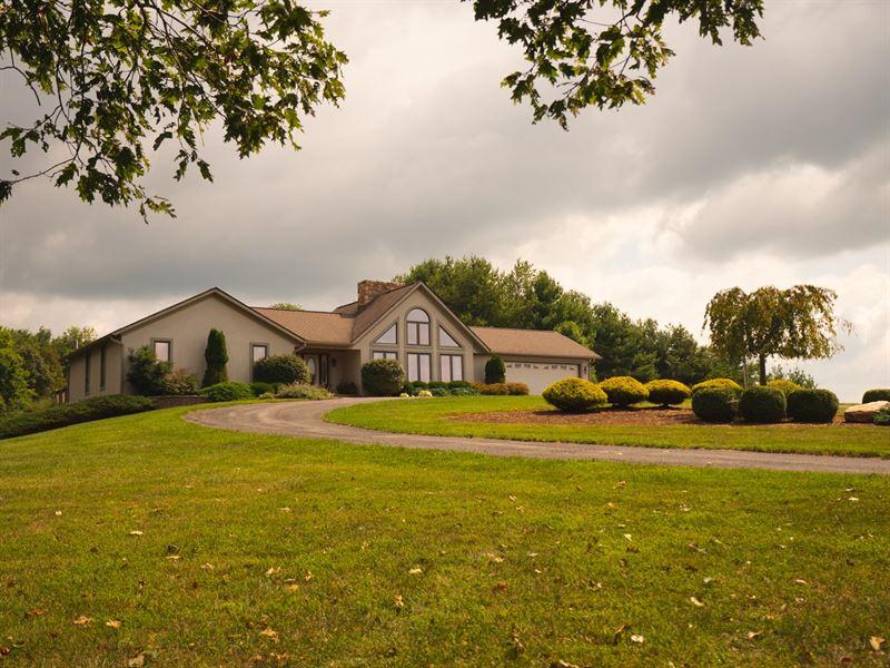 Country Home Horse Barn Floyd VA : Floyd : Floyd County : Virginia
